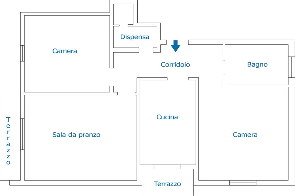 Appartamento Silvia | Appartamenti in Affitto a Finale Ligure | Appartamenti Ammobiliati ad Uso Turistico in Liguria